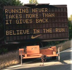 Believe in the #run