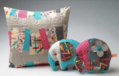 My 'Washi' samples for Quilt Market!: Quilts Pillows, Quilts Marketing, Stuffed Elephants, Washi Pillows, Throw Pillows, Fabrics Crafts, Photos Shared, Diy Pillows, Quilts Crafts