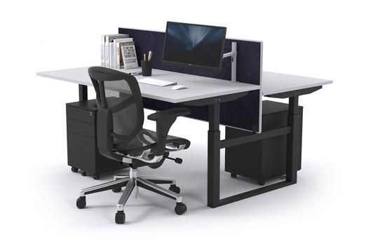 Sit Stand Range 2 Person Stand Up Electric Height Adj Bench Black Frame. I am the newest in ergonomic workstation designs. With my easy to use height adjustment feature, sturdy base and strong frame, I can be modified in seconds to suit any office project. Suitable for an open plan office and ideal for health conscious employees, I provide a personalised and comfortable space for any user.