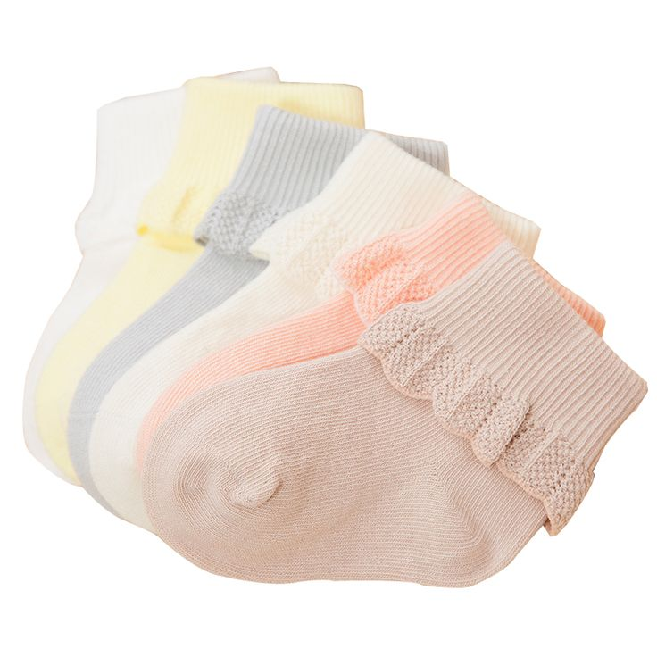 Kids Vintage Socks,Girls Lace Ruffle Frilly Ankle Socks