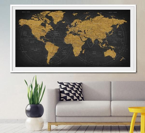Mejores 20 imgenes de extra large wall art world map en pinterest mundo mapa home decor gran mundo mapa arte mundo por myvisualart encuentra este pin y muchos ms en extra large wall art world gumiabroncs Gallery