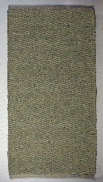Teppich aus Wolle, grün meliert, nach Maß,