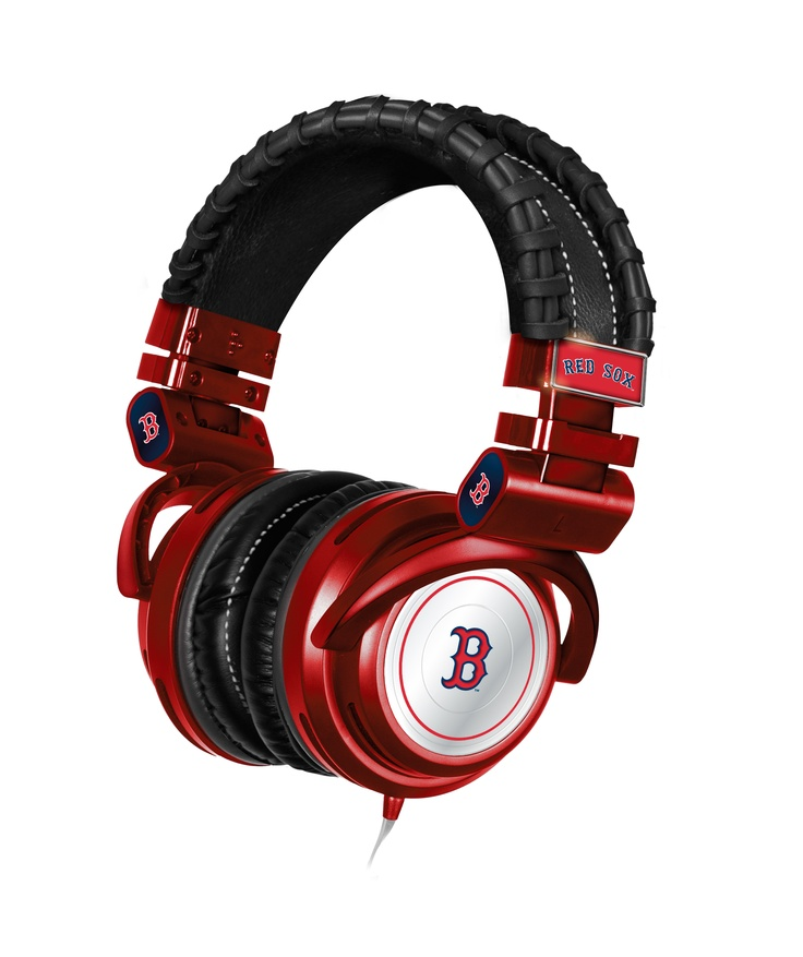 Red Sox Headphones Mlb Headphones Pinterest Red And