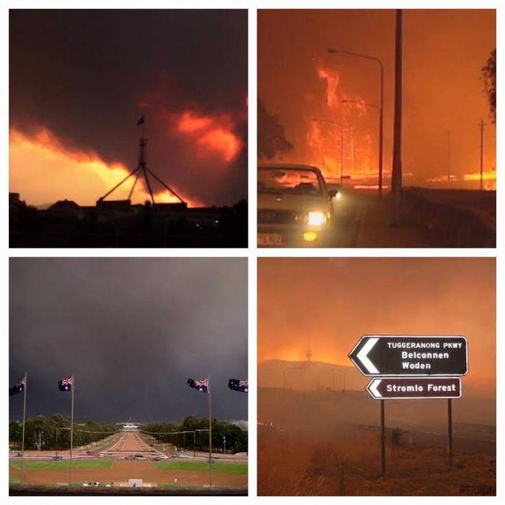 Canberra bushfires, January 2003
