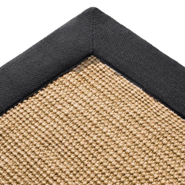 Image Damya Jute Rug with Cotton Trim, 4 Sizes La Redoute Interieurs