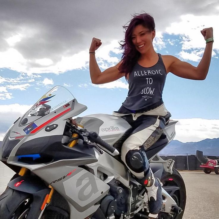 693 best images about biker chick on Pinterest   Honda, Biker ...