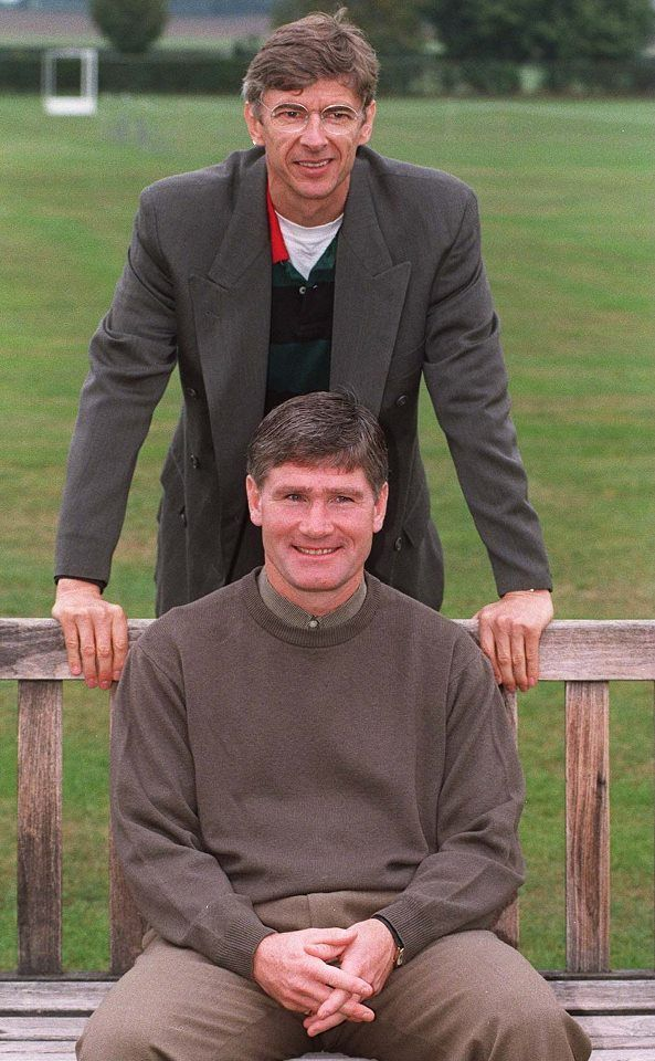 Pat Rice & Wenger Early Days.
