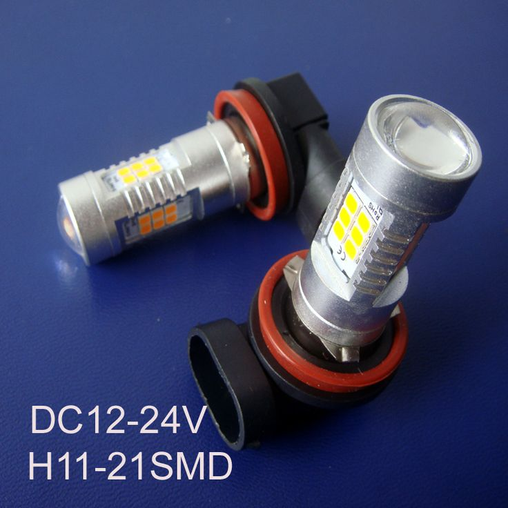 High quality 12/24VAC/DC H11 H8 Car Led fog lamp High Power 10W Auto H11 Led Bulb Lamp Light free shipping 5pcs/lot #Affiliate
