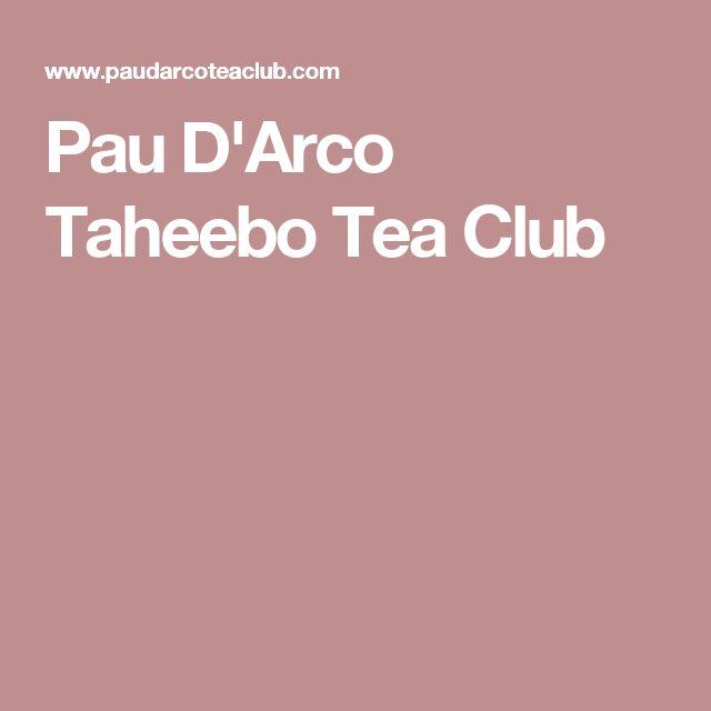 Pau D'Arco Taheebo Tea Club