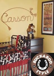 country nursery themes - I love the name Carson.