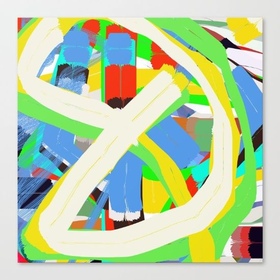 Fine art print on bright white, fine poly-cotton blend, matte canvas using…