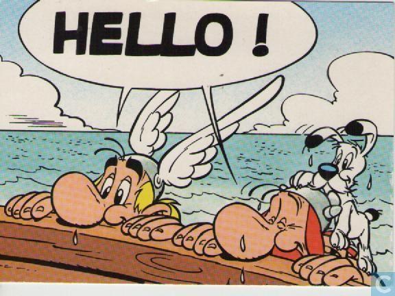Carte postale - Bande dessinée: Asterix - Asterix