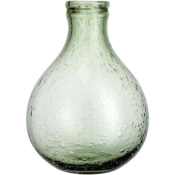 Glass mini vase ($23) ❤ liked on Polyvore featuring home, home decor, vases, glass home decor, round glass vase, glass vase, miniature glass vases and miniature vase