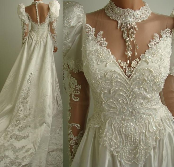 Vintage Wedding Dress 90s: 82 Best Images About 80s And 90s Wedding Dresses On