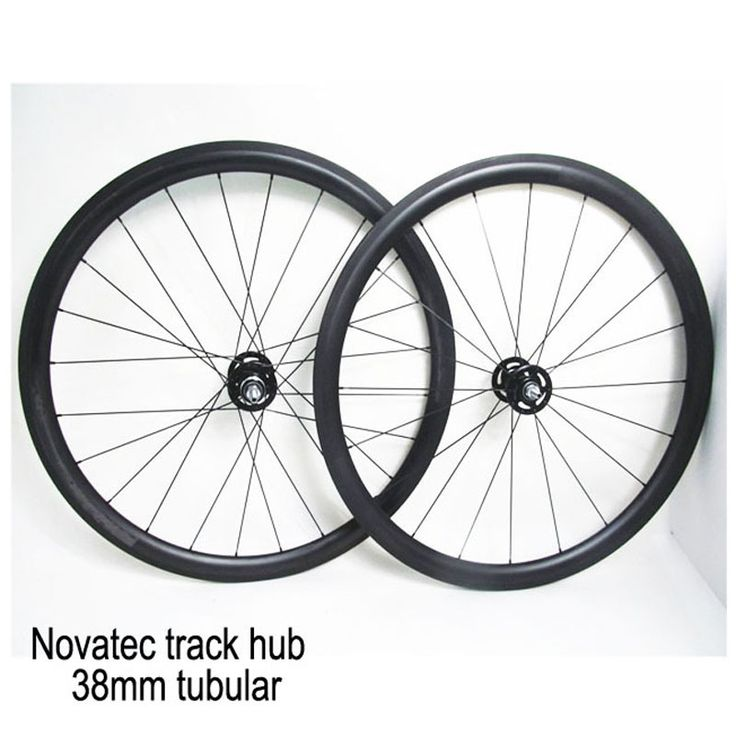 267.75$  Watch now - http://alip1v.worldwells.pw/go.php?t=32464592893 - Single Speed 38mm Tubular Carbon Track Wheel Hot Sale Fixed Gear Bicycle Wheelset Bike Wheels 267.75$