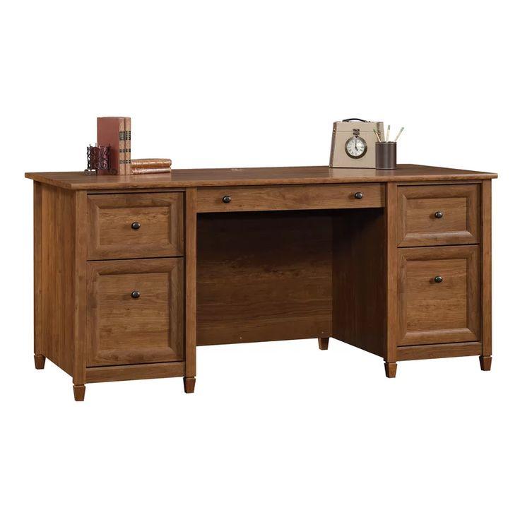 Three Posts Lamantia Executive Desk & Reviews