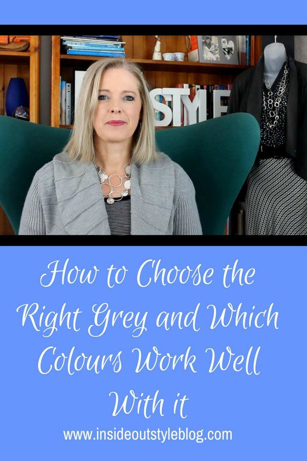 How to pick the undertone of grey and which colours mix well with gray