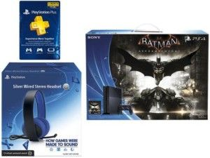 SONY PS4 Batman Console + PS4 Silver Headset + Sony 3 month Membership card Only $399.99 Shipped