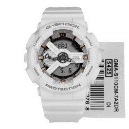 GMA-S110CM-7A2 GMAS110CM-7A2 Casio G-Shock White WR200m Quartz Sports Watch