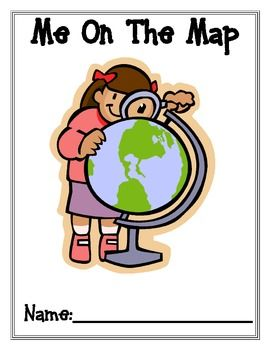 *FREEBIE!* This 12 page Me on the Map activity packet includes a book and quiz. The last two pages can be a quiz to check if they learned the information from the books.