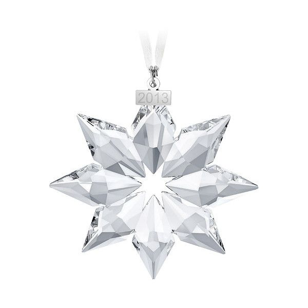 28 best Christmas ornaments: Swarovski snowflakes images on ...