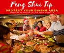 Feng Shui Tip! Protect Your Dining Area Since the dining room or dining area of your home symbolizes the place of family wealth generation make sure to keep it clean and well-lit with no dark corners. Eat here often as by doing so you create good yang chi and if it is not used or occupied for a while the chi will stagnate. Have family gatherings and invite friends for a meal with lots of laughter and good food…this will boost the luck of your family. For more Feng Shui tips, subscribe to…