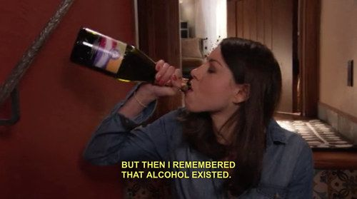 """On developing socially acceptable coping mechanisms:   28 Times April Ludgate Made You Say """"Me As An Adult"""""""