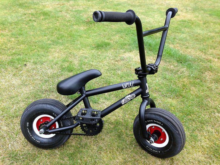 rocker bmx mini stunt bike custom hot rod wheels metal. Black Bedroom Furniture Sets. Home Design Ideas