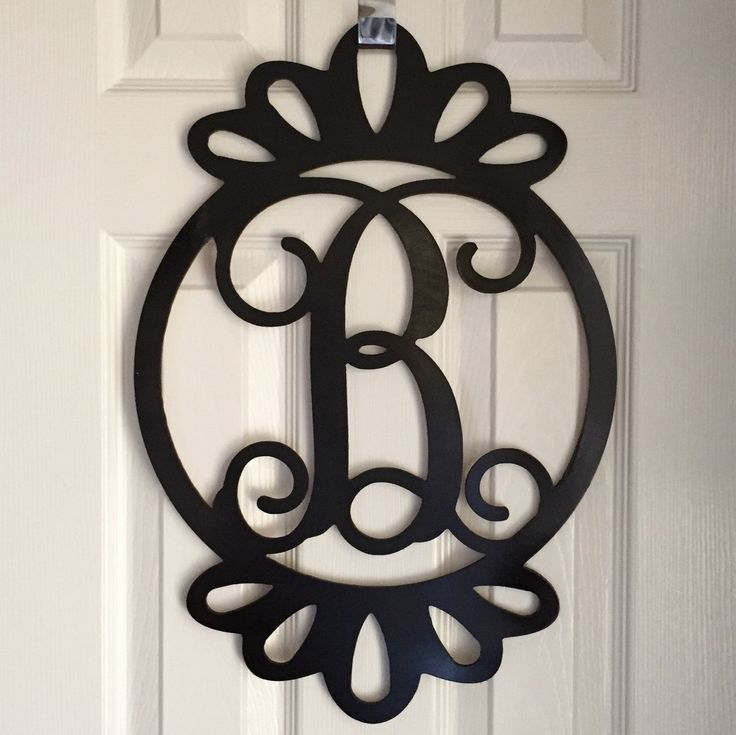 Monogram Front Door Decoration: 1000+ Ideas About Monogram Door Decor On Pinterest