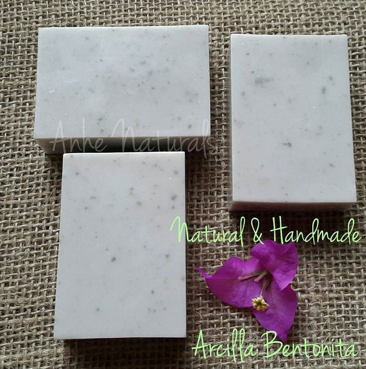Bentonite Clay Soap for normal to oily skin, Arcilla Bentonita, Organic, Vegan, All Natural, Artisanal, Cruelty free Soap by AmySoapShopCo on Etsy