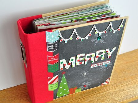 -Project Life Simple Christmas Book - includes photos of most page layouts