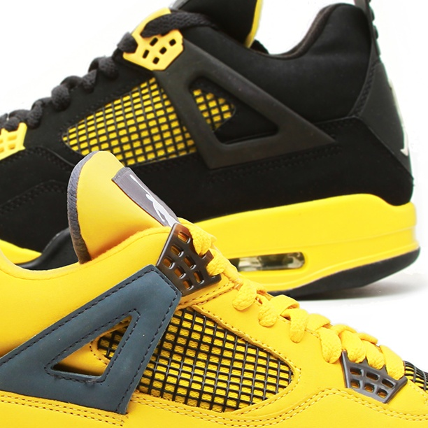 "size 40 19a41 c4847 ... The 2006 Air Jordan 4 Retro LS  TBT ""Black   Yellow ..."