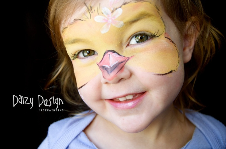 Baby Chick Face Paint