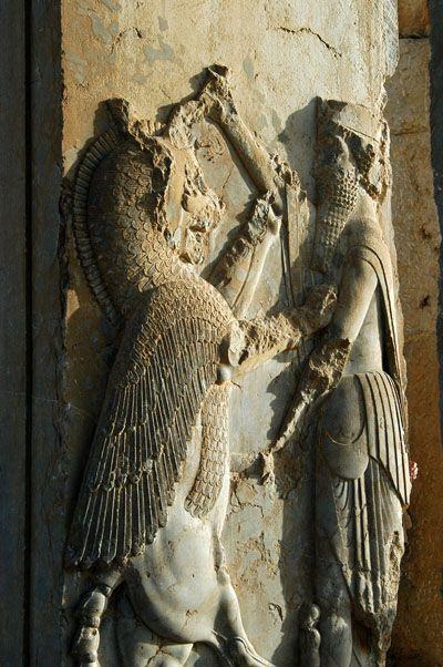 Reliefs Palace Of Darius I Ancient Persian Iran