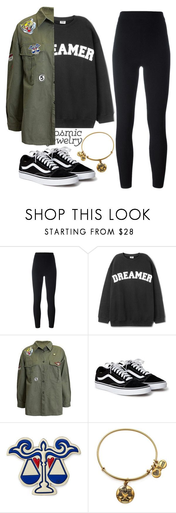 """Libra"" by kamarkhalili ❤ liked on Polyvore featuring Yeezy by Kanye West, Sans Souci, Diane Von Furstenberg and Alex and Ani"