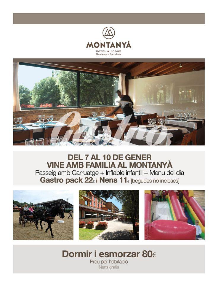 Vine amb la familia al @MontanyaHotel #gastronomia #igersbcn #instafood #montseny #seva