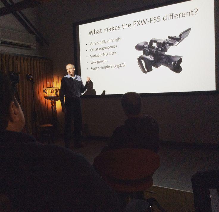 Seminario su Sony PXW-FS5