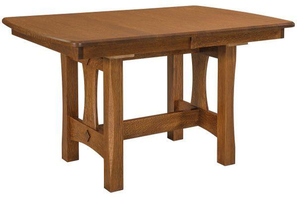 Golden Gate Narrow Amish Trestle Table Trestle Dining Tables Dining Table Trestle Table