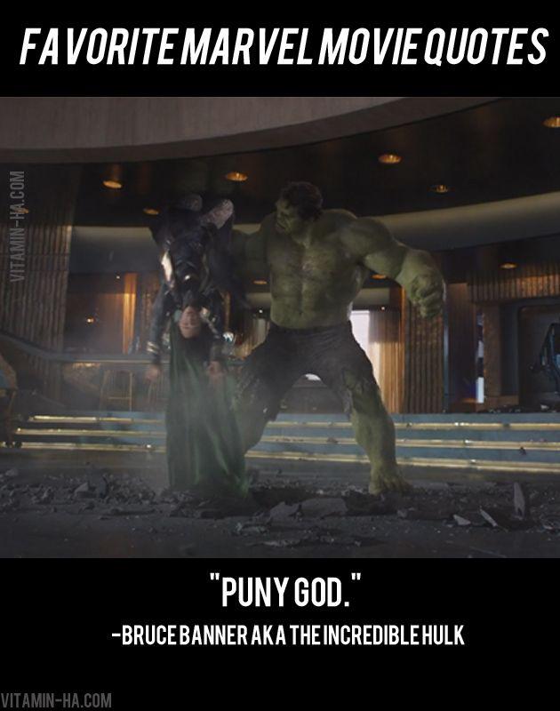 Favorite Marvel Movie Superhero QuotesVitamin-Ha | Vitamin-Ha