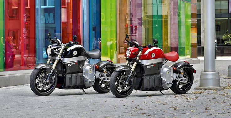 Lito Green Motion présente la Sora au Salon de la moto de Montréal