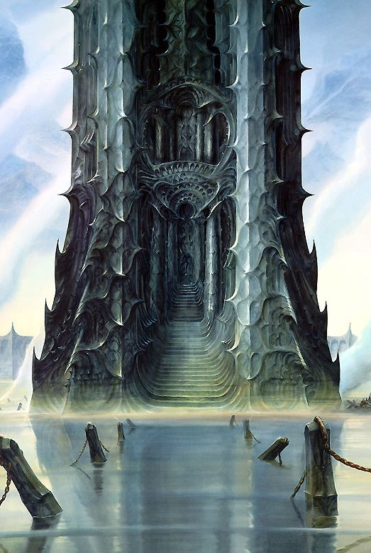 STILL ALIVE:lohrien:  Lord Of The Rings Illustrations by John Howe