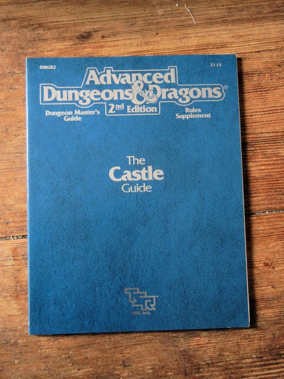 1990 Advanced Dungeons and Dragons 2nd by RubbersuitStudios #dungeonsanddragons #roleplayinggames