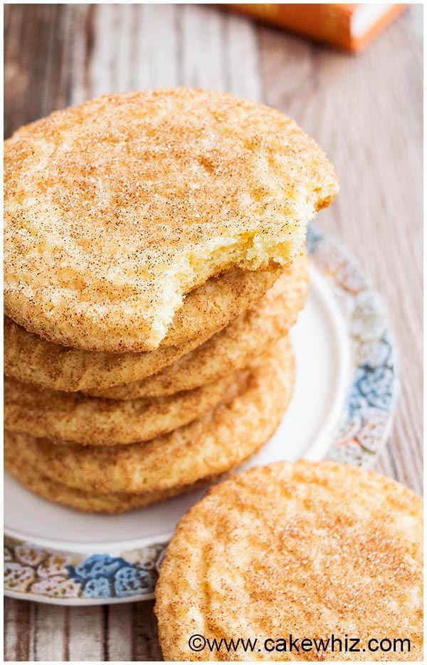 Klassische Snickerdoodles-Kekse EASY + FOOLPROOF – CakeWhiz