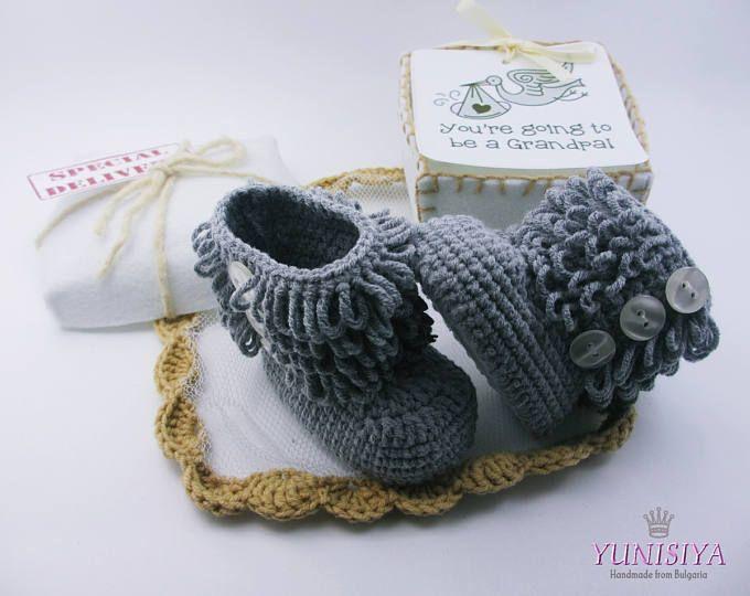 Embarazo revelan a los abuelos, anuncio mono, bebé en el camino, bebé de abuelos, abuelos de Reveal, bebé revelan los regalos, anuncio