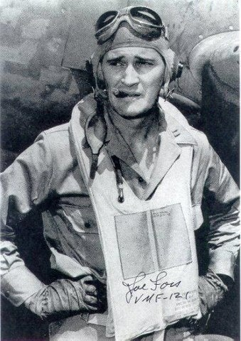 On this day in 1943, Medal of Honor recipient Capt. Joseph Foss shot down three Japanese planes, tying him for the Marine Corps record of 26 aerial kills.