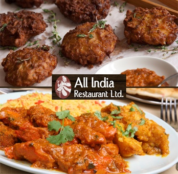 $28 for Three-Course Dinner for Two People at All India Restaurant (Value up to 57)    http://www.socialshopper.com/vancouver_2241