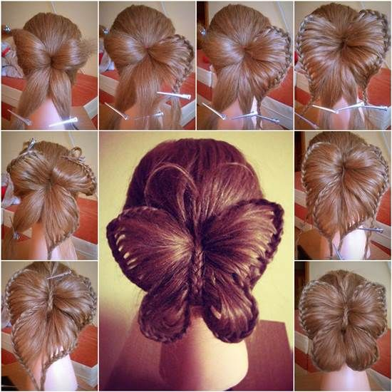 How to DIY Butterfly Braid Hairstyle | iCreativeIdeas.com Like Us on Facebook ==> https://www.facebook.com/icreativeideas