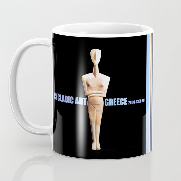 https://society6.com/azima?promo=K8RYDY6V3HCZ Buy CYCLADIC ART Mug by Azima. Worldwide shipping available at Society6.com. Just one of millions of high quality products available.