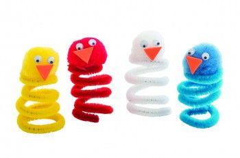 Spring Chicks Craft Activity