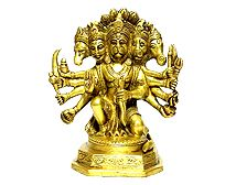 It is perform by calling a priest in the house with proper arrangement of the Puja kits required in it.